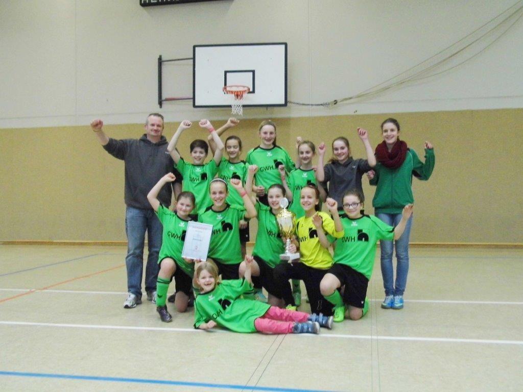 D-Juniorinnen HKM Kreismeister 2015 | (c) ???
